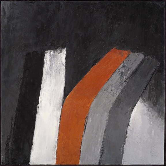 """Dark Still Life with Copper"", 2007-8, oil on canvas, 127x127cm"