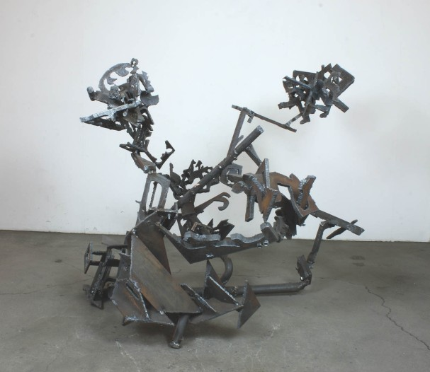 "Robin Greenwood, ""Photicon Nakamichi"", 2016, steel"