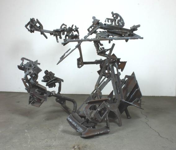 "Robin Greenwood, ""Photicon Nakamichi"", 2016, steel"
