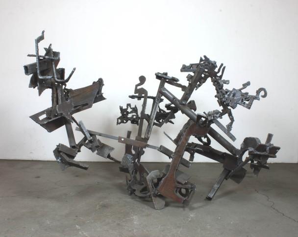 """Robin Greenwood, """"Las Brocciolas"""", 2016, steel"""