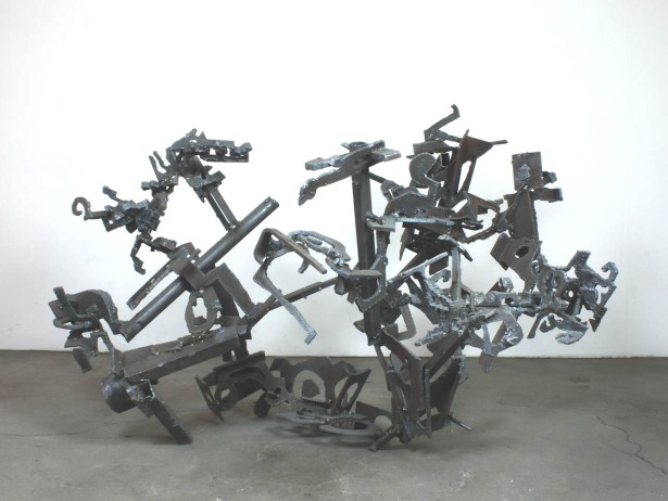 "Robin Greenwood, ""Las Brocciolas"" (view 2), 2016, steel"
