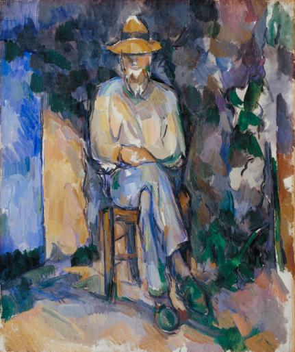 """Paul Cézanne, """"The Gardener Vallier"""", 1906, Tate"""