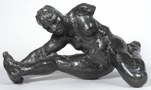 """Auguste Rodin, """"Crouching Woman"""", c. 1891"""