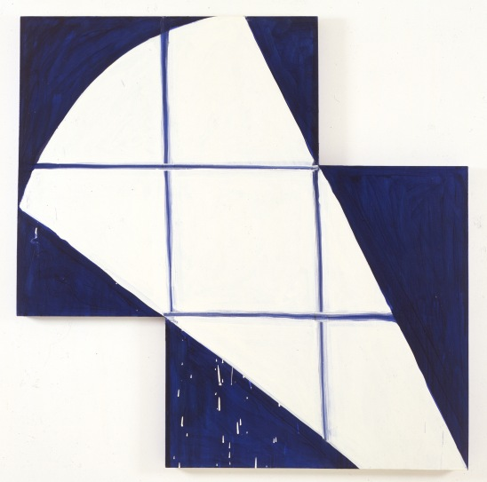 """Matisse"", 1989, oil on canvas,137.1x137.1cm, ©Mary Heilmann; Photo credit: Michael Klein, Courtesy of the artist, 303 Gallery, New York, and Hauser & Wirth"
