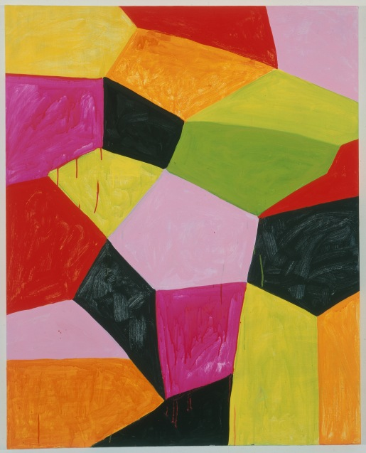 """Primalon Ballroom"", 2002, oil on canvas on wood,127x101.6cm, ©Mary Heilmann; Photo credit: Oren Slor, Courtesy of the artist, 303 Gallery, New York, and Hauser & Wirth"