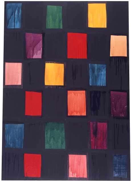 """The Thief of Baghdad"", 1983, oil on canvas, 152.4x106.68cm, ©Mary Heilmann; Photo credit: Pat Hearn Gallery, Courtesy of the artist, 303 Gallery, New York, and Hauser & Wirth"