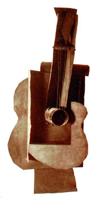 """Pablo Picasso, """"Guitare"""", 1912"""