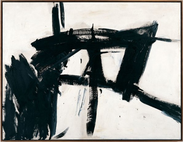 "Franz Kline, ""Vawdavitch"", 1955, oil on canvas. 158.1x204.9cm. Collection Museum of Contemporary Art Chicago. Gift of Claire B. Zeisler 1976.39. Photo Museum of Contemporary Art Chicago. Photography: Joe Ziolkowski © ARS, NY and DACS, London 2015."