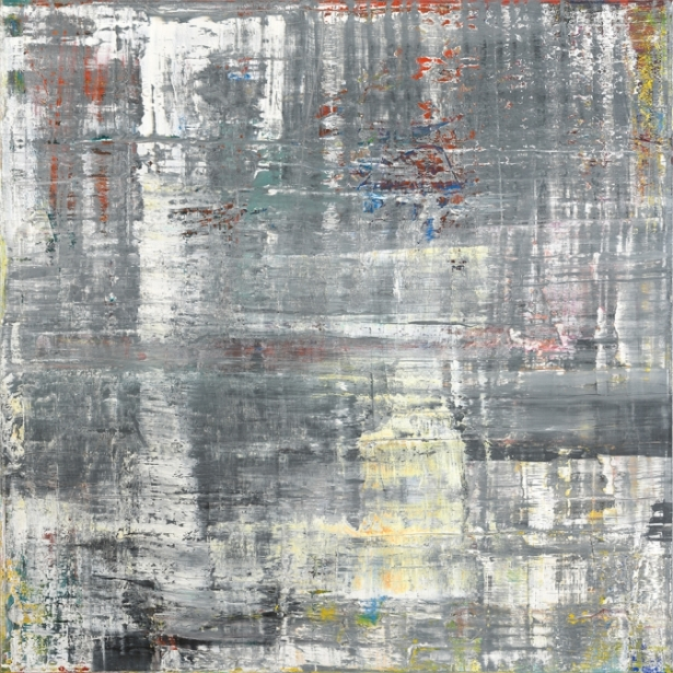 "Gerhard Richter, ""Cage 5"", 2006, oil on canvas, 300x300cm"