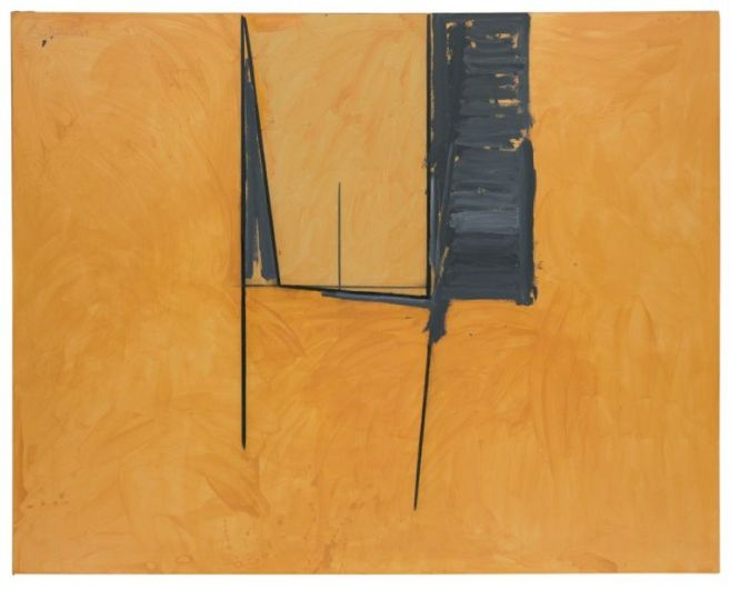 """The Mexican Window"", 1974, acrylic and charcoal on canvas, 194.3cm x 243.8cm"