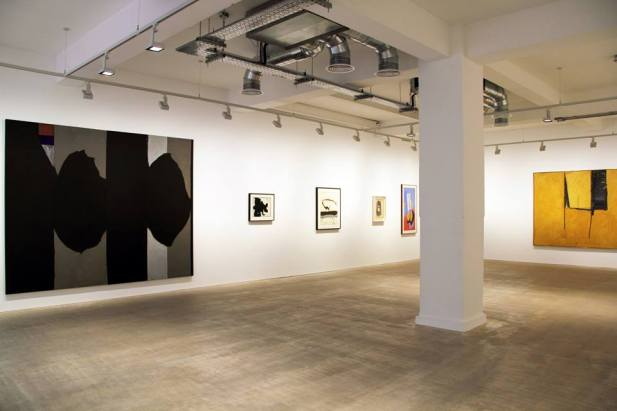 Installation, Robert Motherwell at Bernard Jacobson Gallery, London