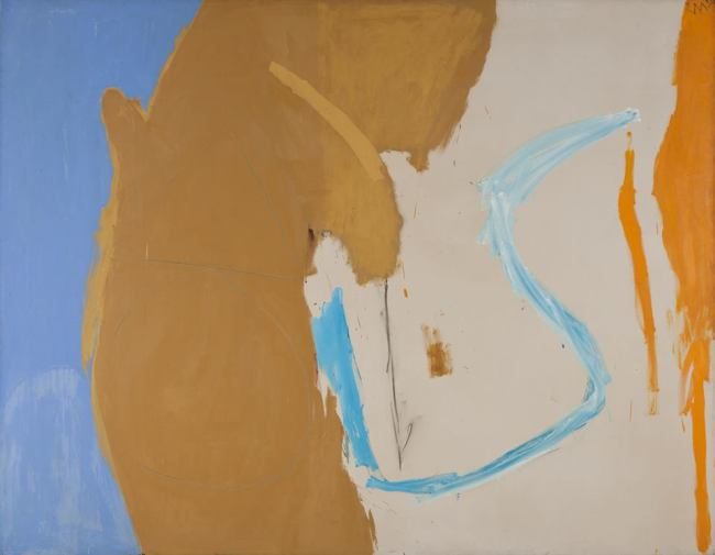 """California"", 1959, oil and charcoal on canvas, 177.2 x 227.3cm"