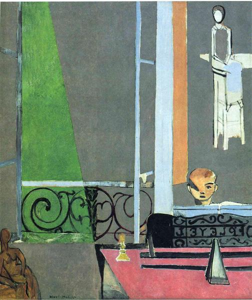 "Henri Matisse, ""The Piano Lesson"", 1916"