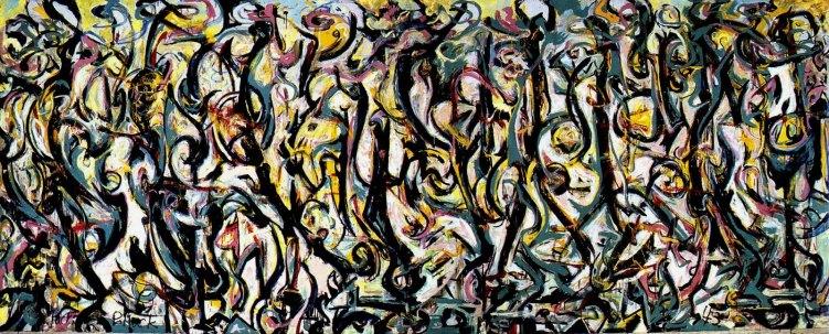 "Jackson Pollock, ""Mural"", 1943"