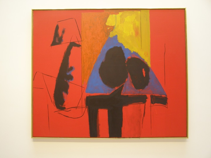 Robert Motherwell, the Studio, 1987, acrylic and charcoal on canvas, 152.4 x 182.9 cms. Nick Moore's own images