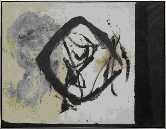 Robert Motherwell, View No 1, 1958, Oil on canvas, 206 x 264.2cms