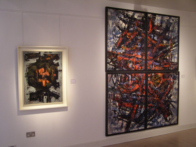 """Nucleus"" and ""Exaltation"" installation shot"