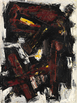 """Talisman"", 1954, oil on canvas, 90x68cm"