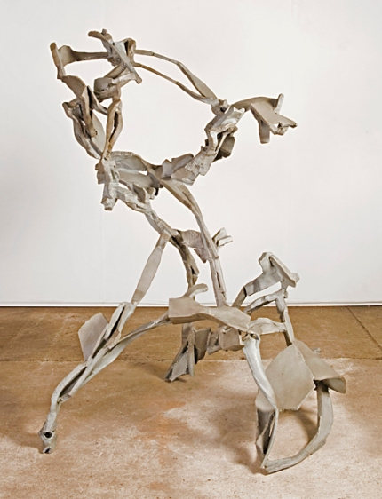 """Angouleme"", 2006-9, steel, H.166cm"