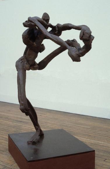 """Leonide"", 1981-82, steel, H.157cm"