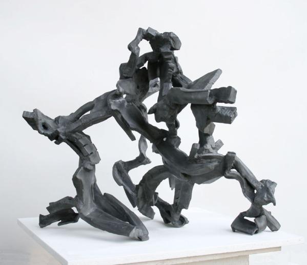 """Quarternary"", 2016, steel, H.75cm"
