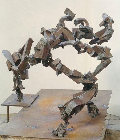 """""""Tpwards Aspen"""", 1984, steel, H.82cm"""