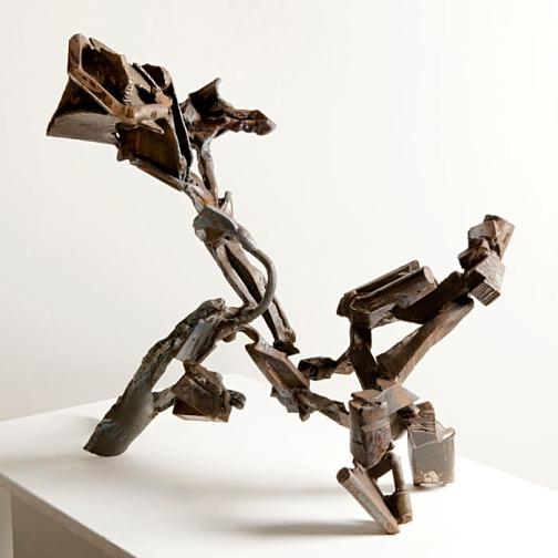 """""""Vervent III"""", 2010, steel, H.63cm"""