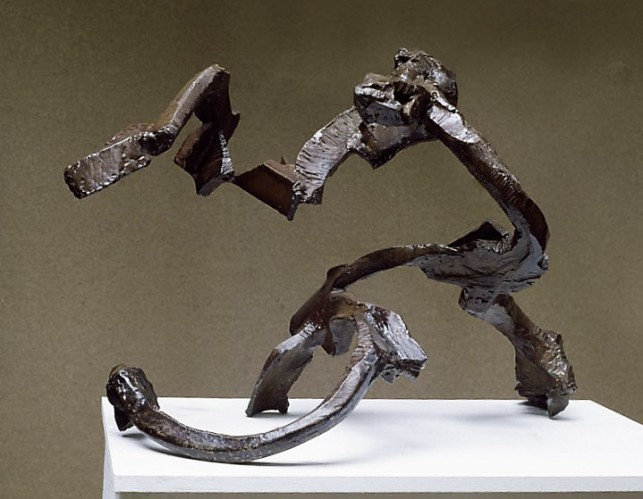 """Llobregat"", 1989-90, steel, H.54cm"