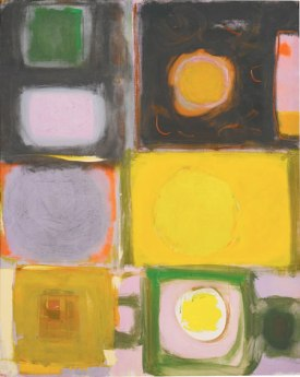 "Patrick Heron, ""Lemon into Cadmium, Ocre into Black, 1959"