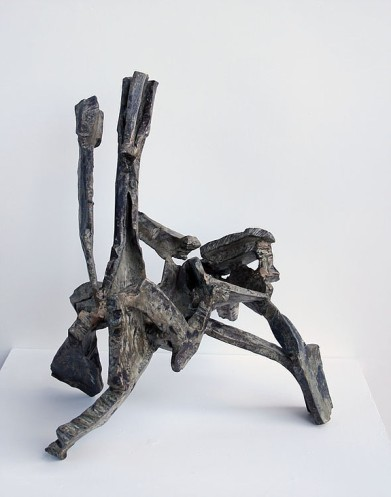 """Quicksap"", 2016, steel, H.46cm"