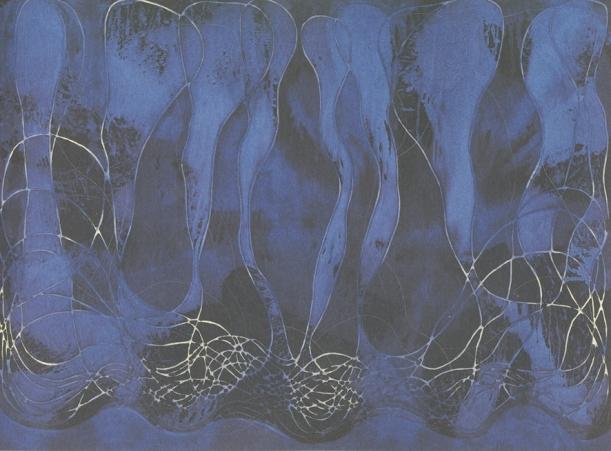 Ian McKeever, 'Assumptio (Murmur)', 1998-99, oil and acrylic on cotton-duck