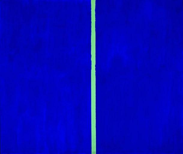 Barnett Newman, 'Onement VI', 1953, oil on canvas