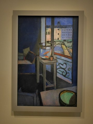 "Henri Matisse ""Interior Quai St. Michel, with Goldfish Bowl"" 1914"