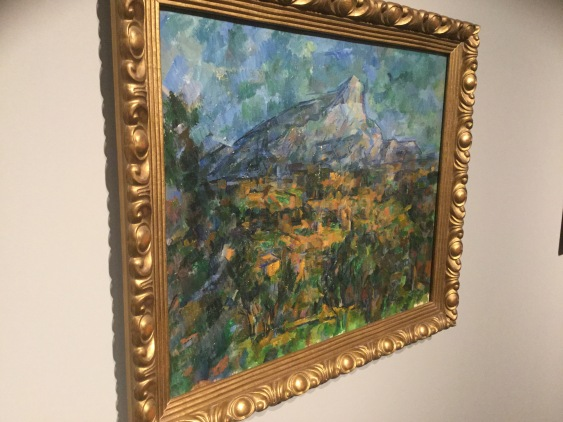 "Paul Cezanne, ""Mont St. Victoire"", ;photo Alan Gouk"