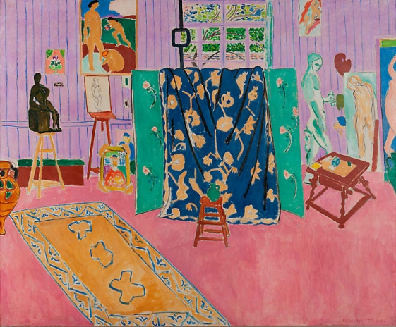 "Henri Matisse, ""The Pink Studio"", 1911"